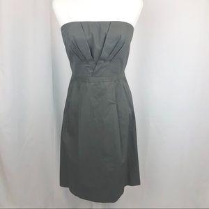 J. Crew Strapless Corset Sheath Dress